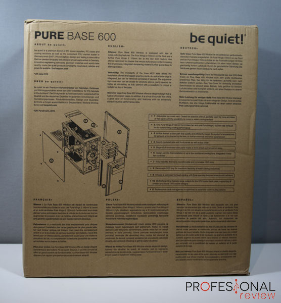 Be Quiet! Pure Base 600