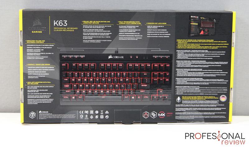 Corsair K63