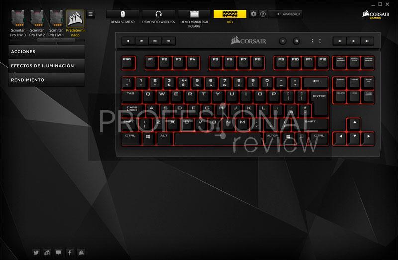 Corsair K63 software