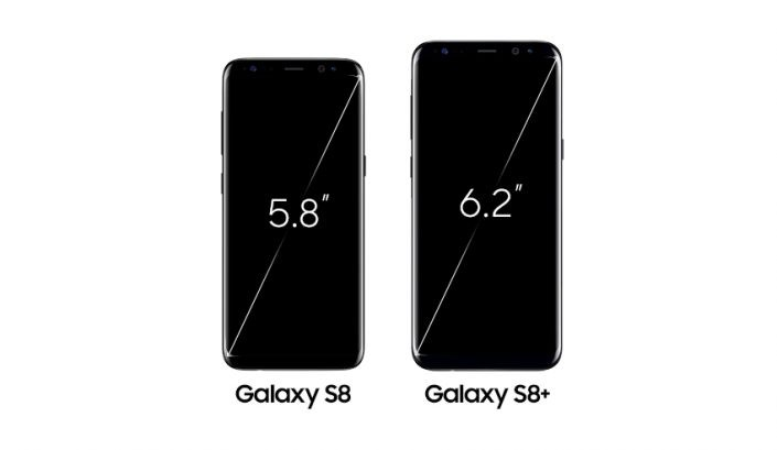 galaxy s8 vs galaxy s8 plus