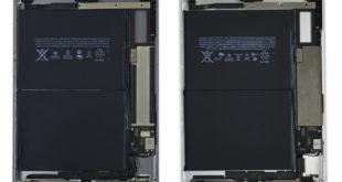 iPad Air 1 (izquierda) - Nuevo iPad (derecha)