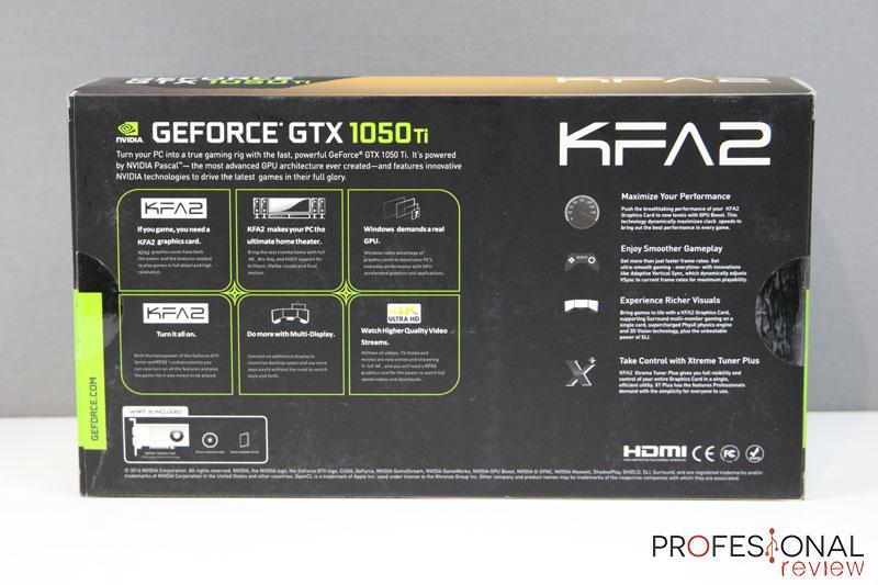 KFA2 GTX 1050 Ti