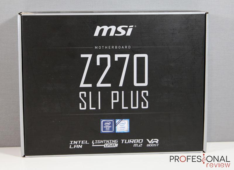 MSI Z270 SLI Plus review