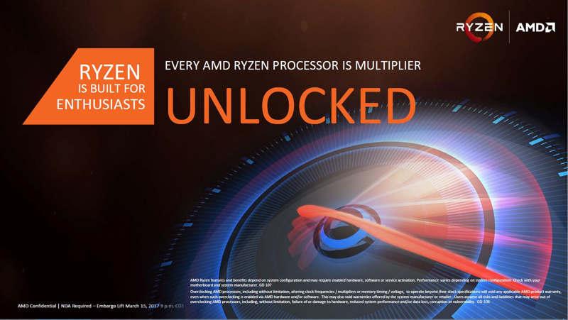 AMD Ryzen 5 ya disponibles