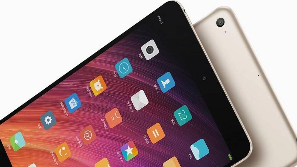 Anunciada la Xiaomi Mi Pad 3 con 4 GB de RAM