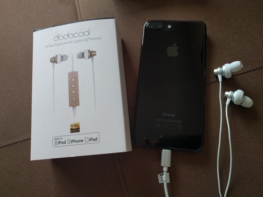Auriculares Dodocool Lightning para iPhone