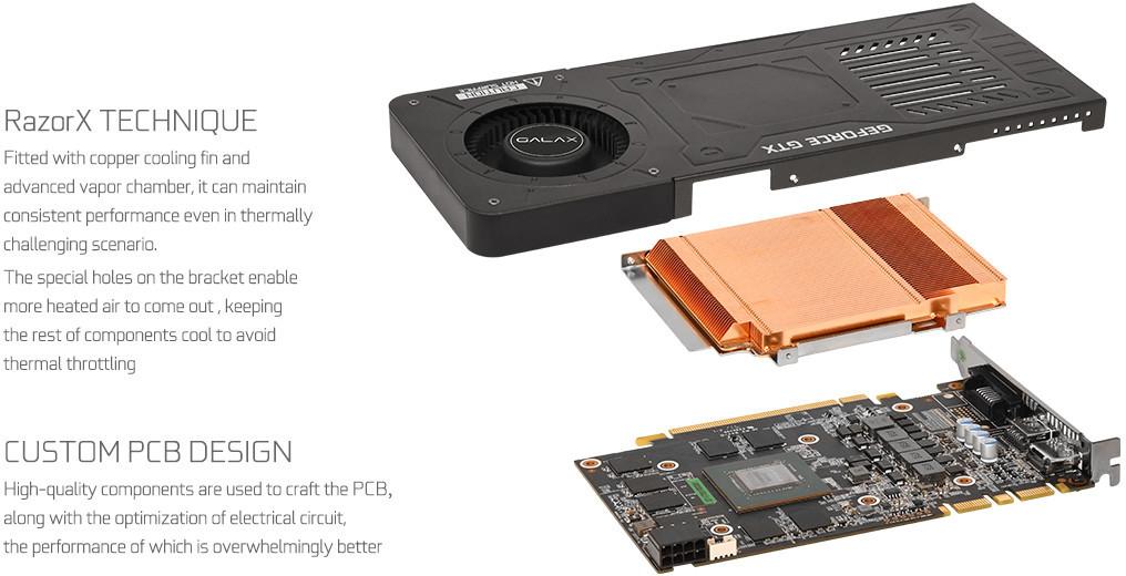 GALAX GeForce GTX 1070 KATANA