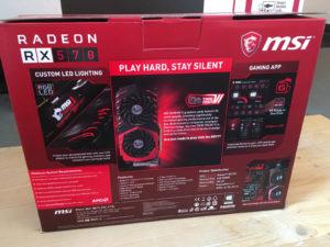 MSI Radeon RX 470 Gaming X posa ante la cámara