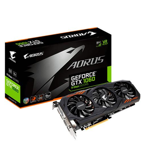 Nueva Aorus GeForce GTX 1060 9Gbps