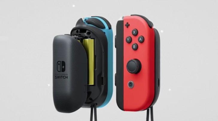 Nuevos Joy-Con y módulos de carga para la Switch