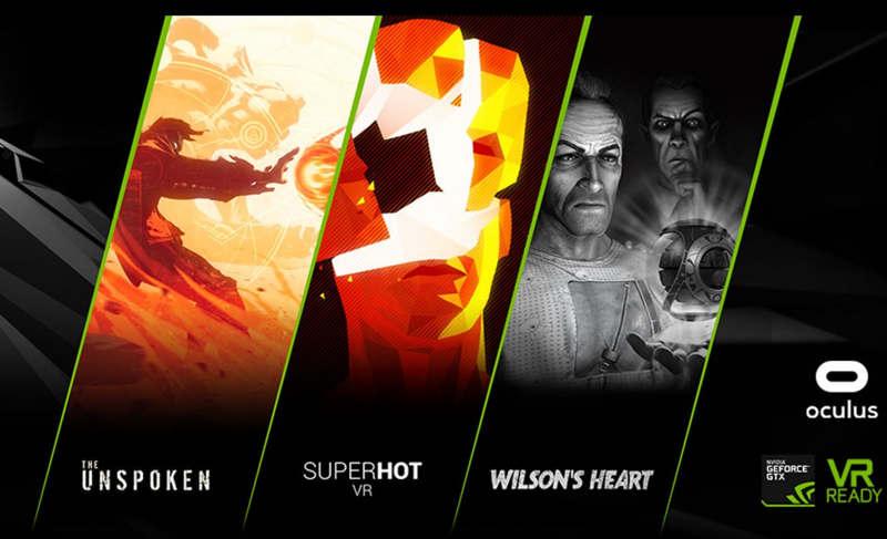 Nvidia regala tres juegos de VR en un bundle con GeForce GTX y Oculus Rift