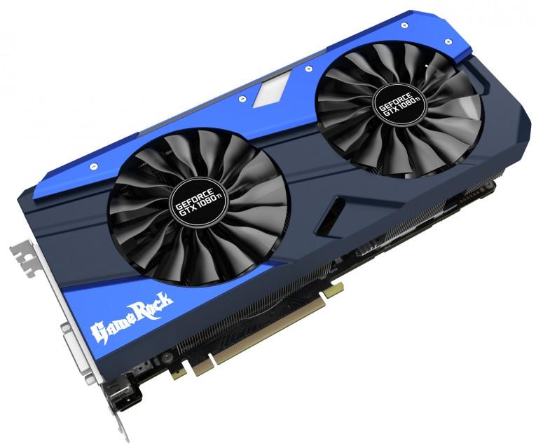 Photo of Palit introduce la GeForce GTX 1080 Ti GameRock con 4 ventiladores