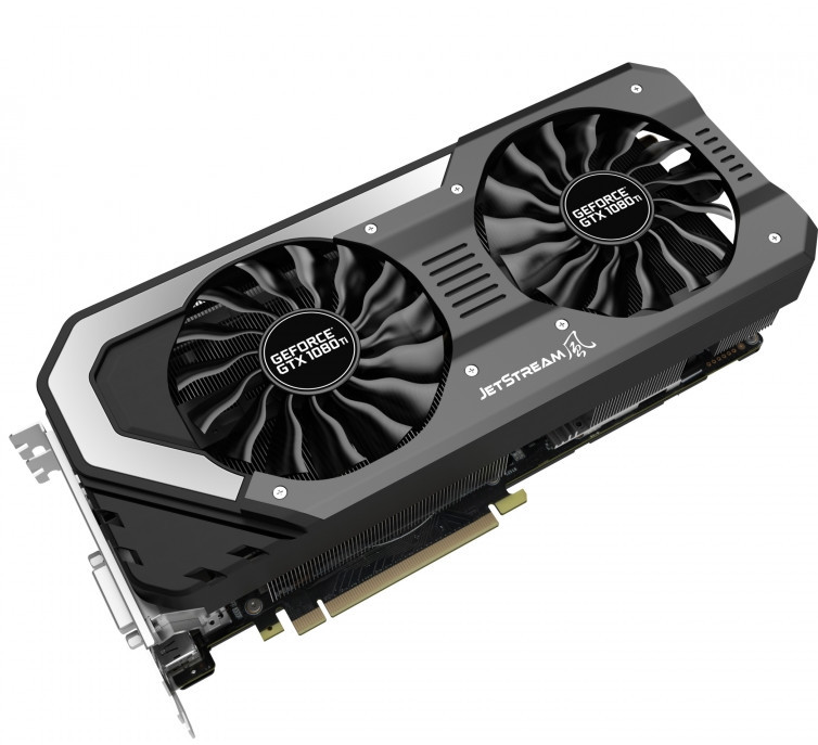 Palit anuncia sus GeForce GTX 1080 Ti JetStream y Super JetStream