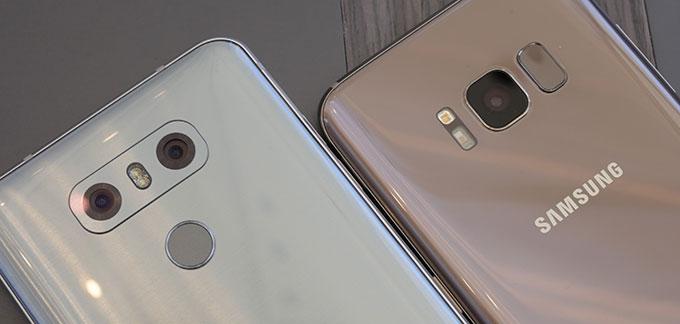 Cámara del LG G6 vs Galaxy S8
