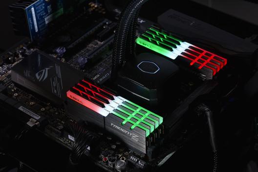 Trident Z RGB DDR4 con LEDs RGB
