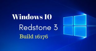 Windows 10 Redstone 3 build 16176