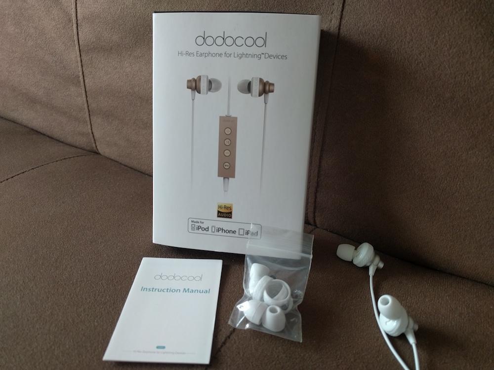 contenido caja auriculares dodocool