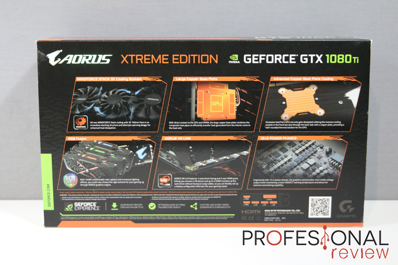 Gigabyte Aorus GTX 1080 Ti Xtreme
