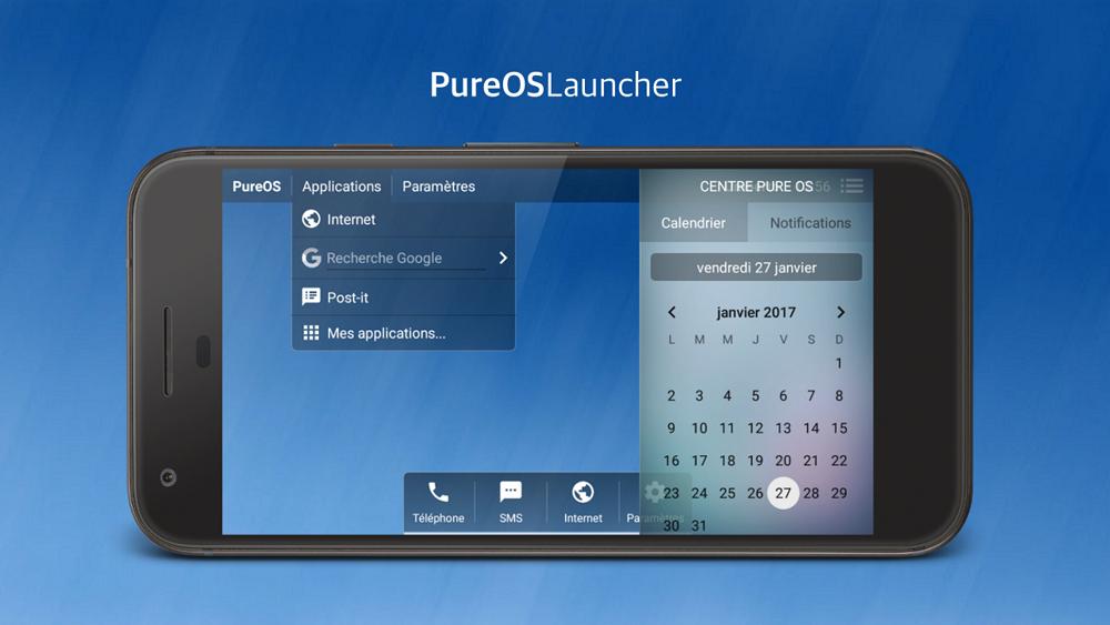 PureOS Launcher