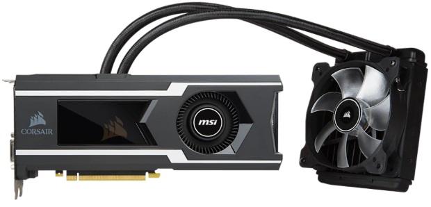 MSI GeForce GTX 1080 Ti Sea Hawk