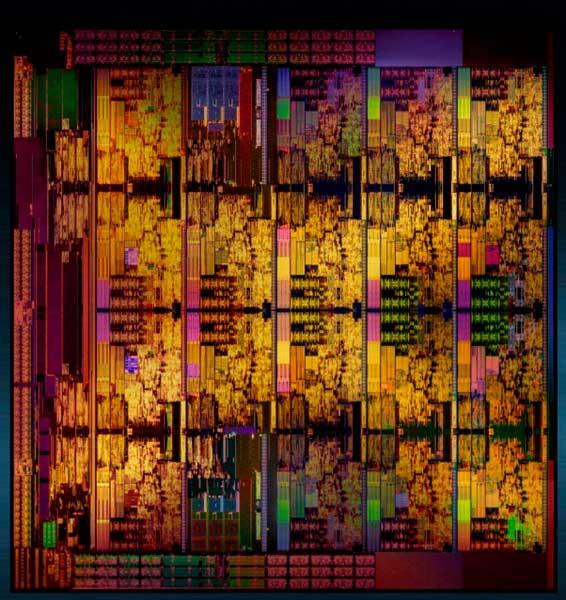 Intel Core i9-7980XE die