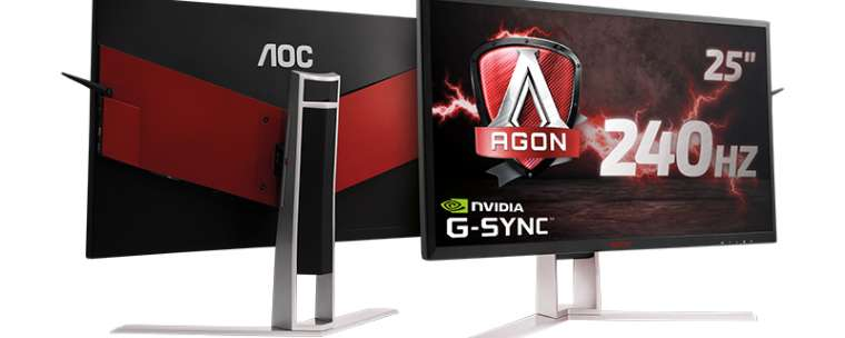nuevo monitor AGON AG251FG de 24.5 pulgadas a 240 Hz