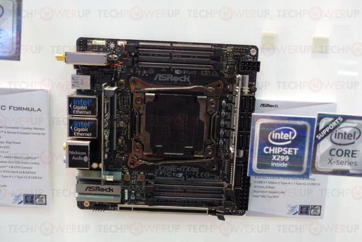 ASRock X299-E ITX/AC