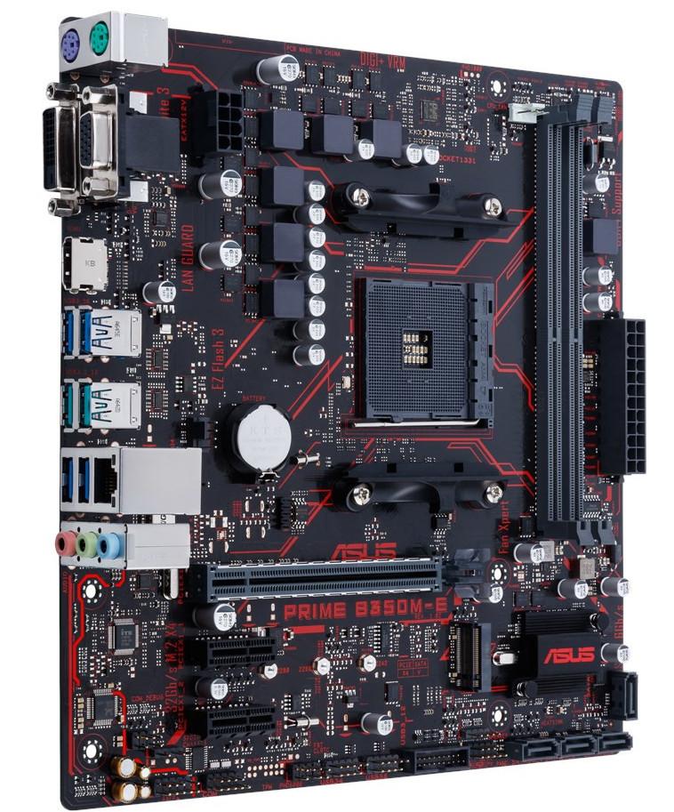 Photo of Nueva placa base Asus Prime B350M-E para AMD Ryzen
