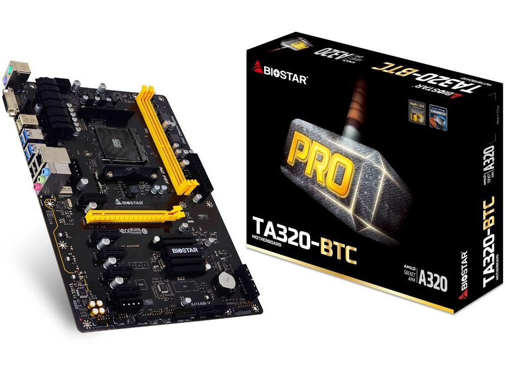 Photo of Biostar introduce dos placas base AM4 para minado de bitcoins
