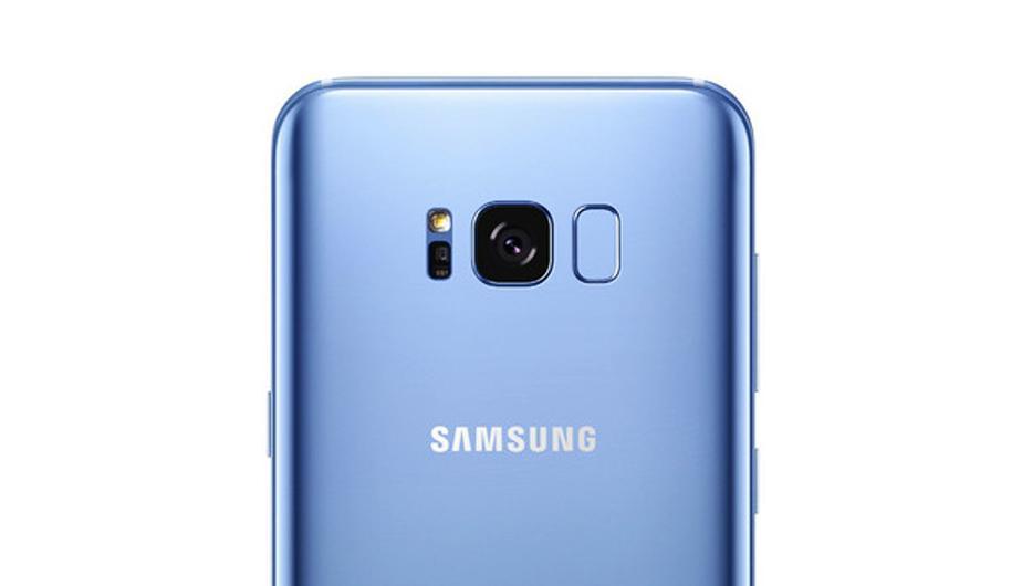 Galaxy S8 lector de huellas