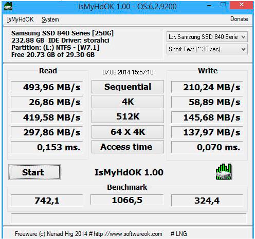 Photo of Cómo descubrir la velocidad de tu disco duro o SSD, rápidamente