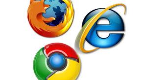 Internet Explorer - Chrome - Firefox