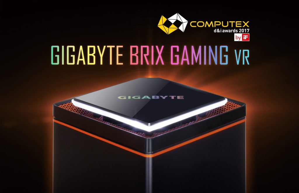 Gigabyte BRIX Gaming VR conquista la Computex 2017