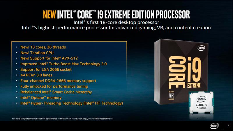 Photo of Intel Core i9-7980XE a 2000 euros e Intel Core i7-7820X a 600 euros (Precios de vértigo)