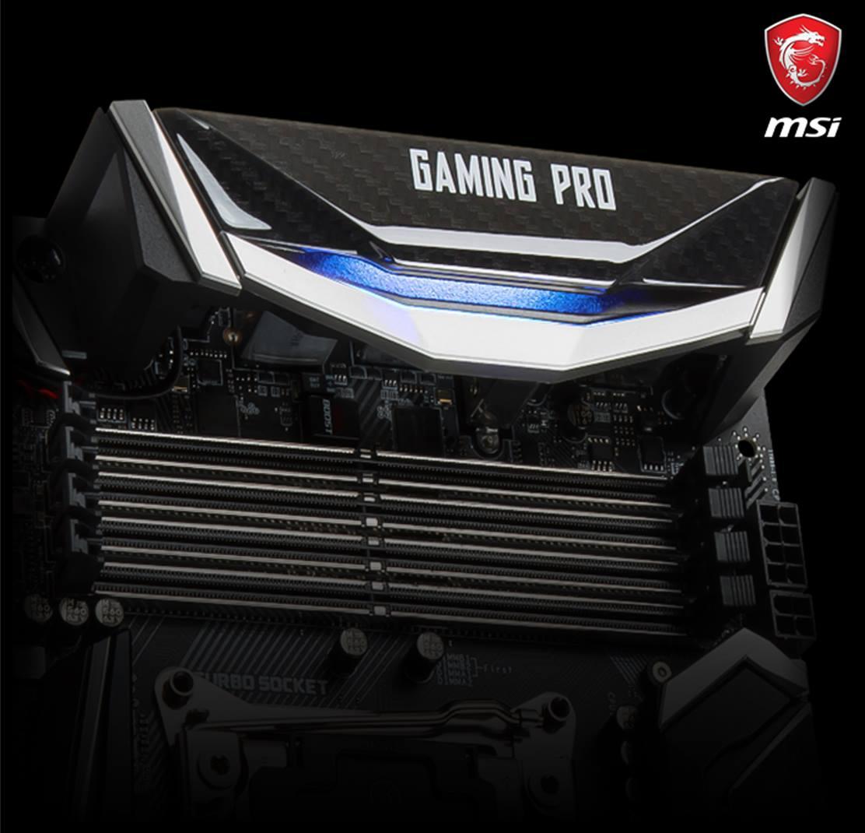 MSI Gaming Pro para X299 se deja ver