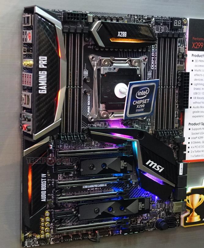 Photo of MSI X299 Gaming Pro Carbon, Gaming M7, SLI Plus y Tomahawk