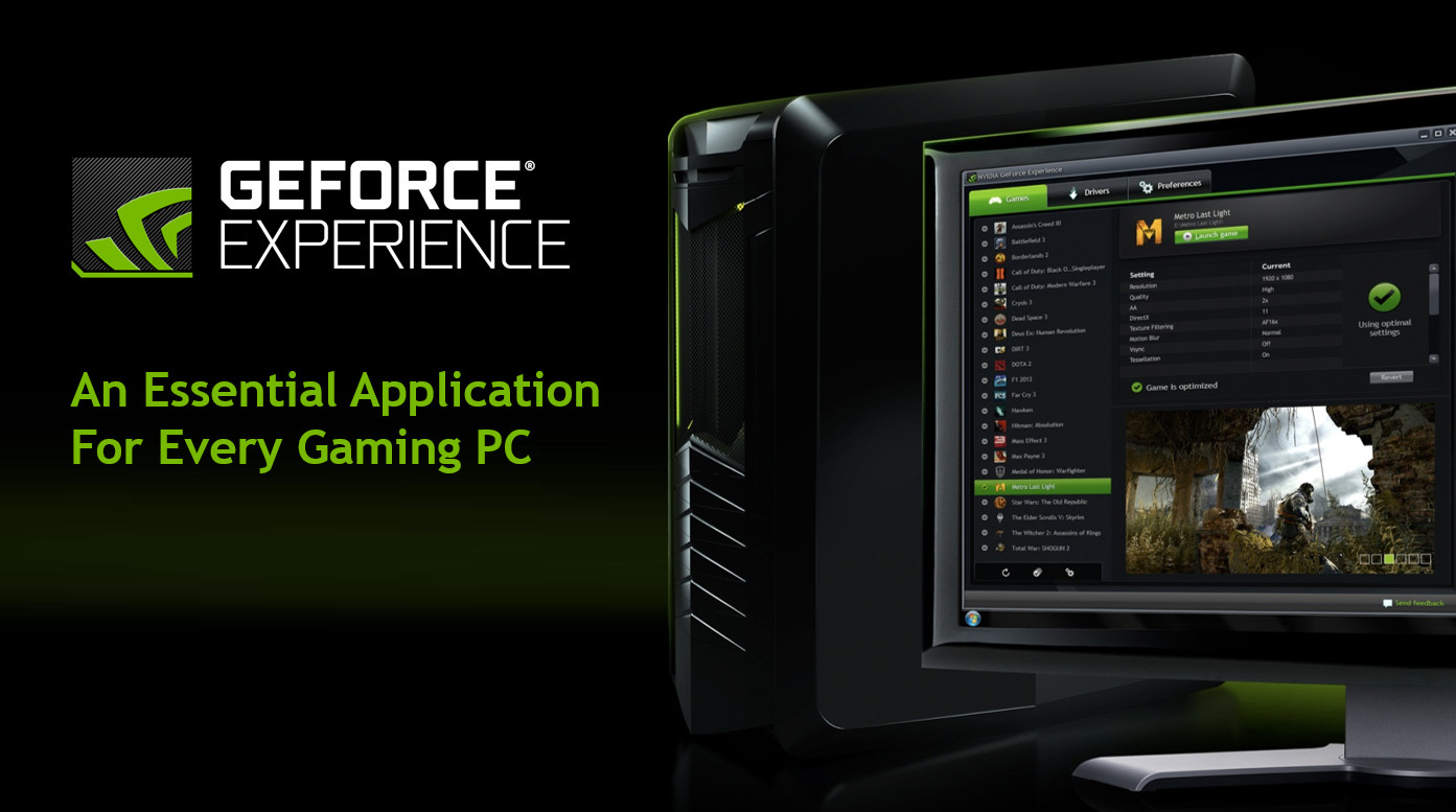 Photo of NVIDIA lanza GeForce Experience 3.6.