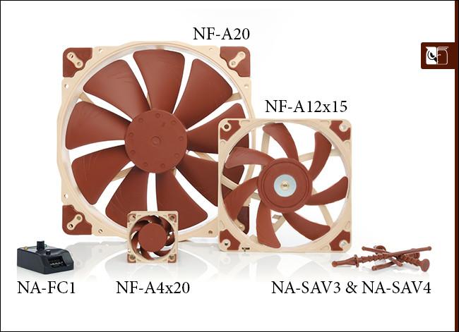 Noctua amplia su serie A de ventiladores y accesorios