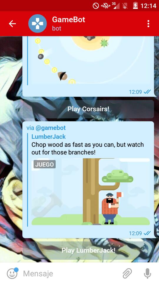 GameBot Telegram