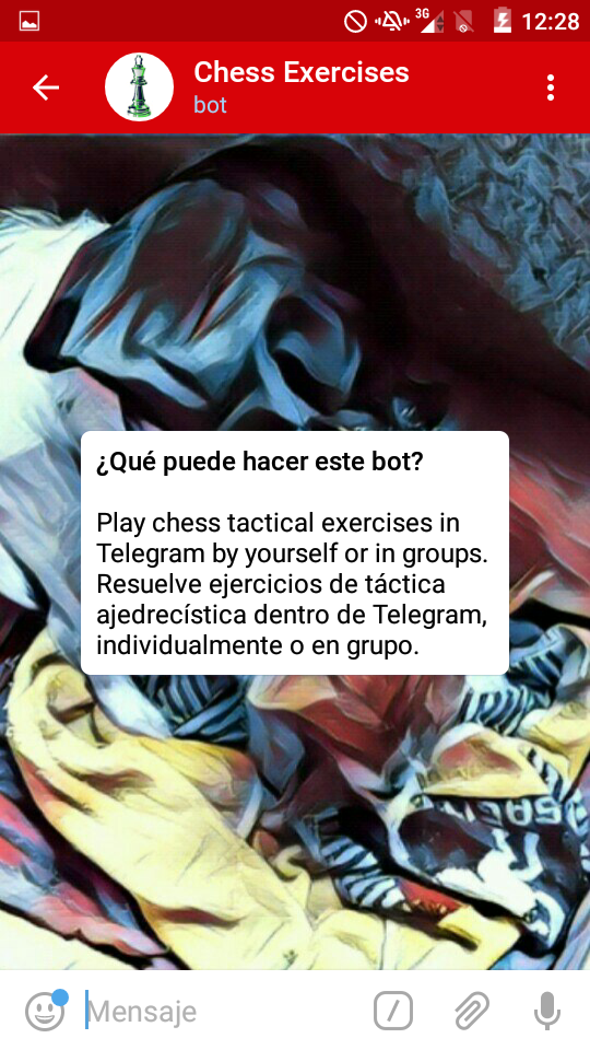 Iniciar ChessExercicesBot