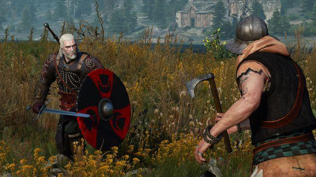 Vuelve a jugar The Witcher 3 con escudos