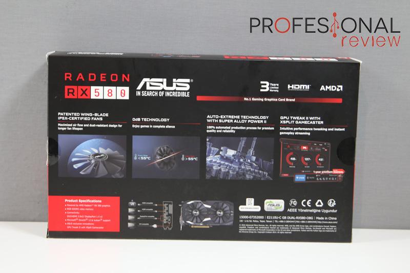Asus RX 580 Dual