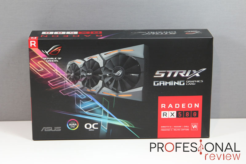 Asus RX 580 Strix