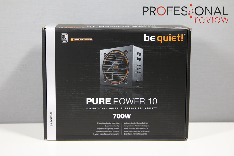Be Quiet! Pure Power 10