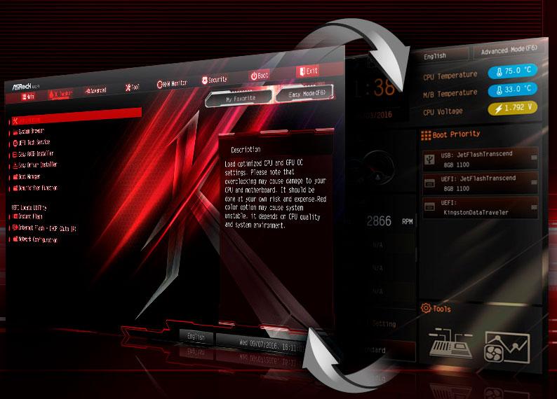 ASRock Z270 Killer SLI bios