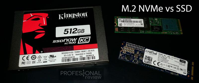 M.2 NVMe vs SSD