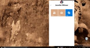 My People - Windows 10 Redstone 3