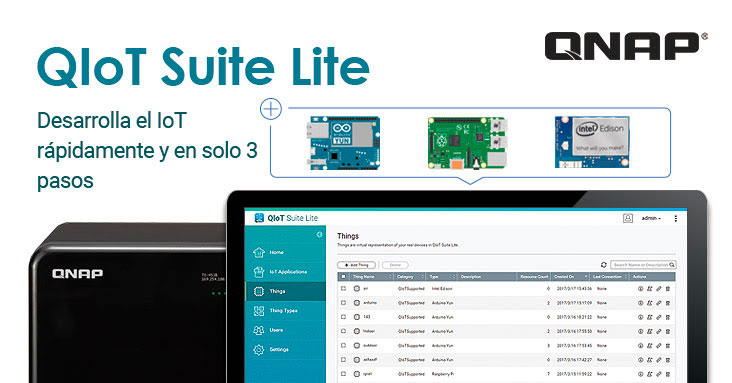 Photo of QNAP lanza QIoT Suite Lite (Beta) | Nota de Prensa