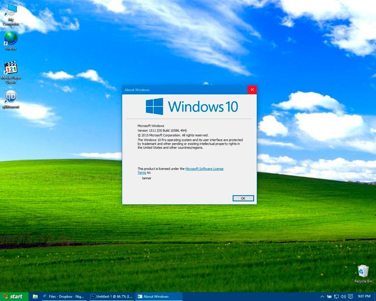 Cómo hacer que Windows 10 luzca como Windows XP