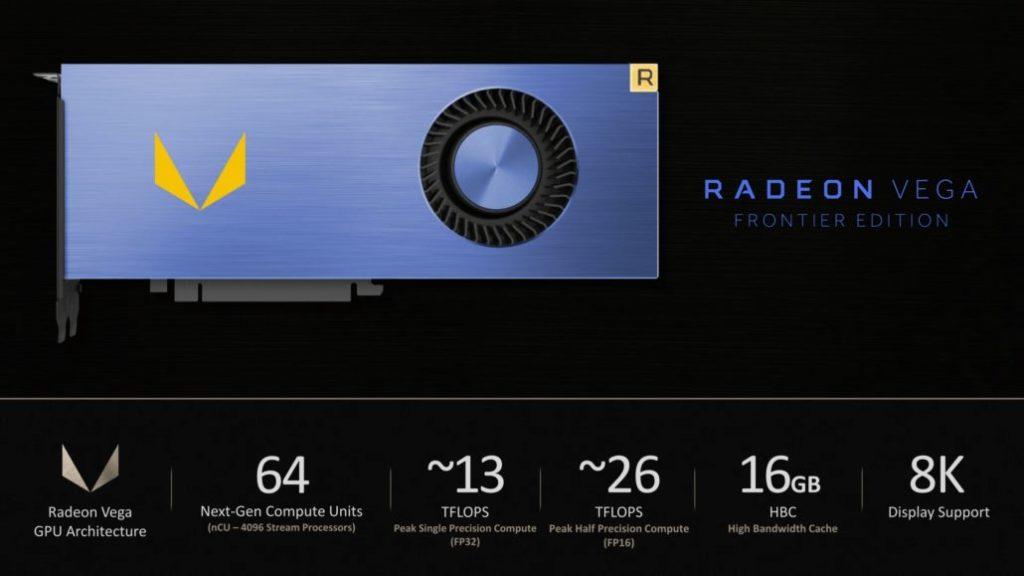 AMD Vega Frontier Edition